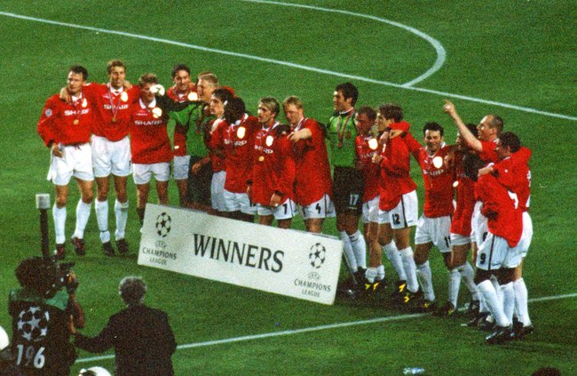 Man Utd Win Champions League 1999