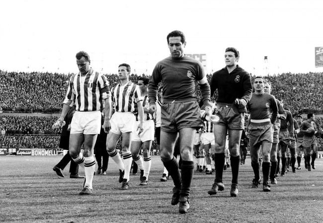 Juventus v Real Madrid European Cup 1961/62