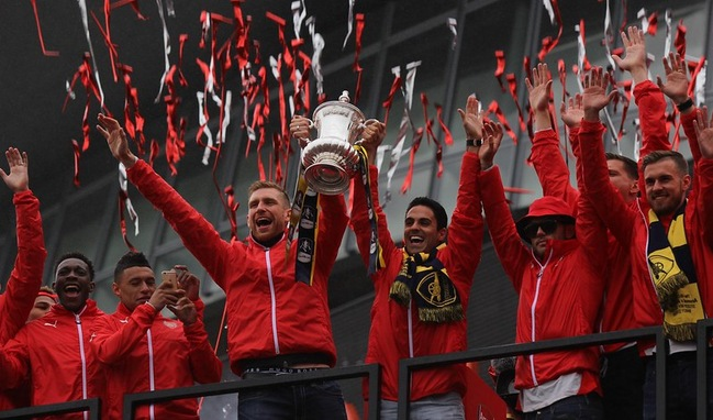 Arsenal FA Cup Win 2015