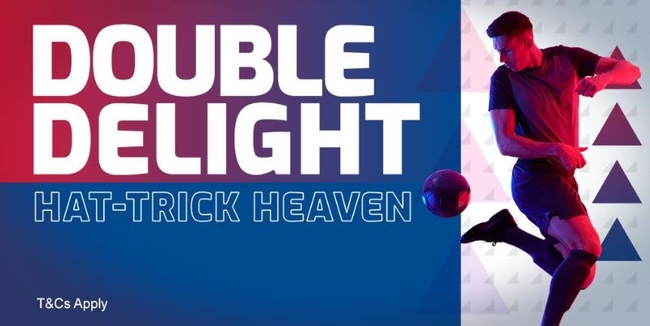 Betfred Double Delight Hattrick heaven