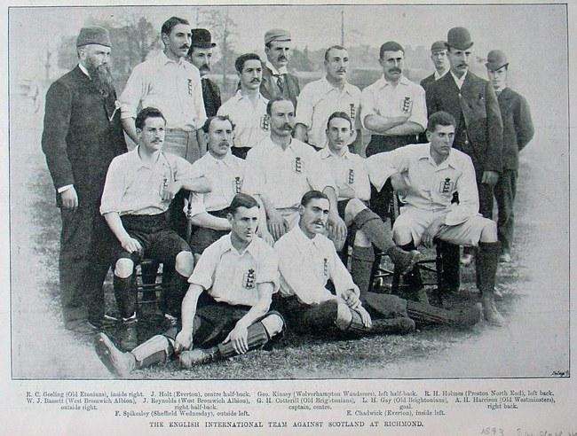 England Team 1893