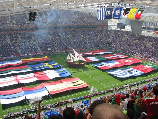Euro 2004 Opening Ceremony