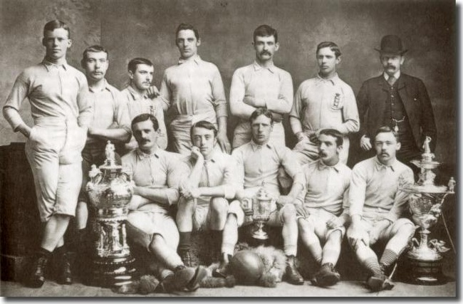 1884 FA Cup Winners Blackburn Rovers