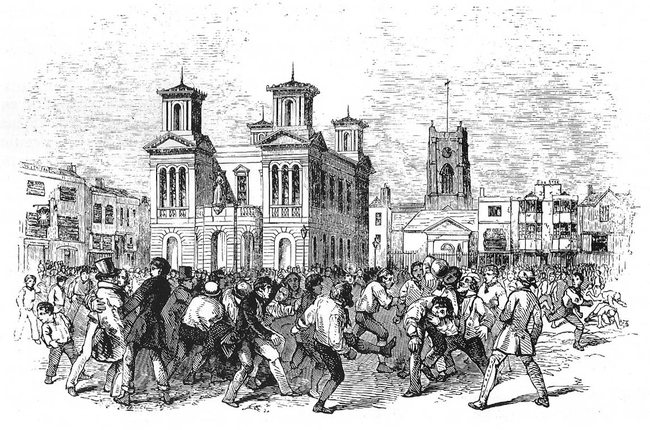 Football Game 1846