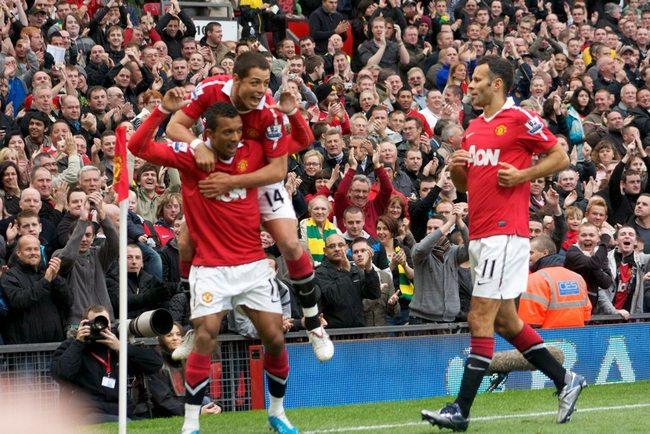Goal Celebration Man Utd
