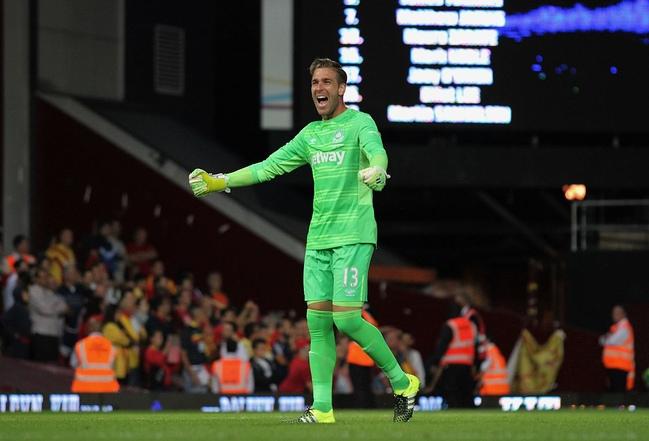 Goalkeeper Celebrates Match win