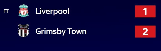 Grimsby Beat Liverpool