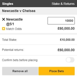 High Stakes Betslip