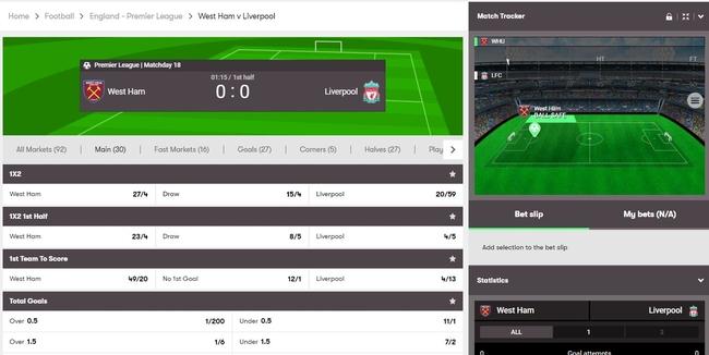 Premier League Betting