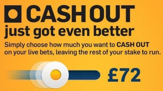Betfair Cashout