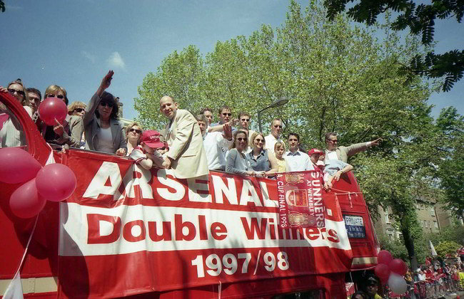 Arsenal Double 98