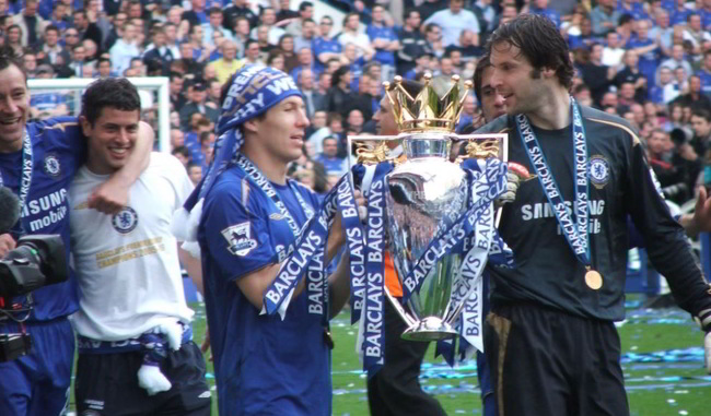 Chelsea Win League 2005