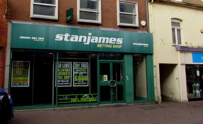 Stan James Betting Shop