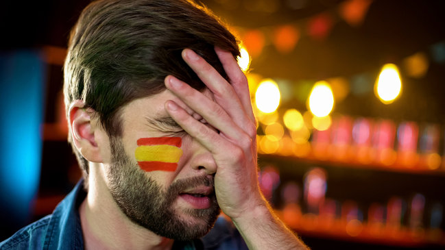 Spanish Fan Sad