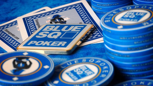 Blue Square Poker