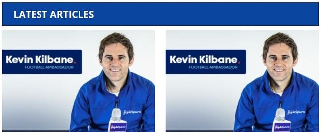 Kevin Killbane Boylesports Ambassador