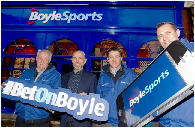 Boylesports New Branding