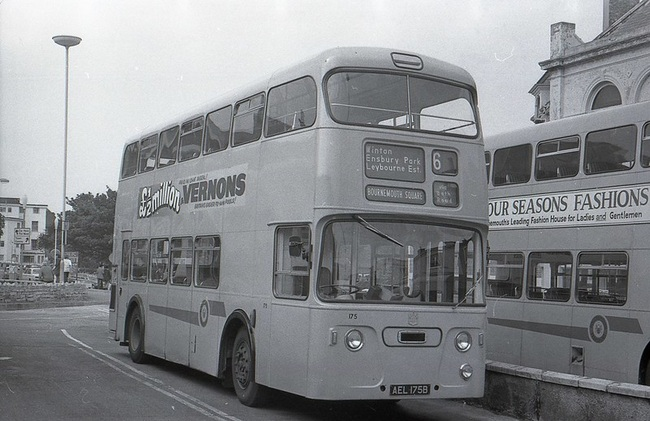 Vernons Bus Advert