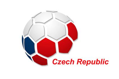 Czech Republic Football Flag Icon