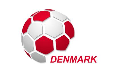 Denmark Football Flag Icon
