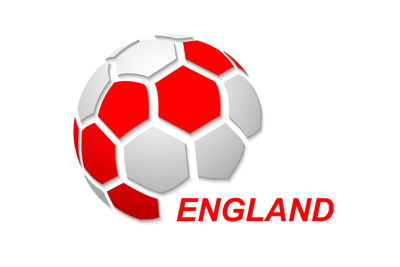 England Football Flag Icon