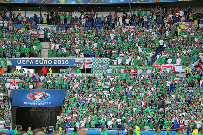 Northern Ireland Football Fans at Euro 2016