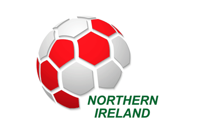 Northern Ireland Football Flag Icon