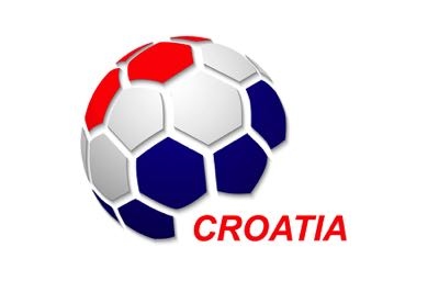 Croatia Football Flag Icon
