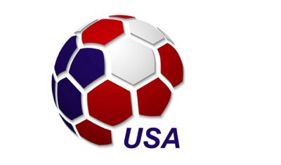USA football map icon