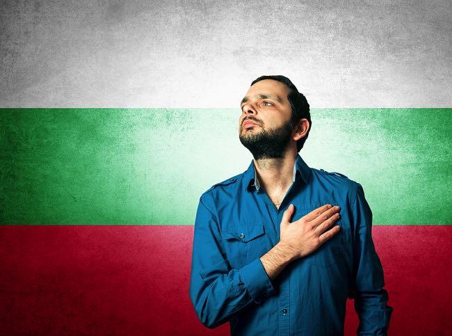 Bulgaria football fan