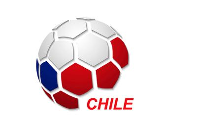 Chile football flag icon