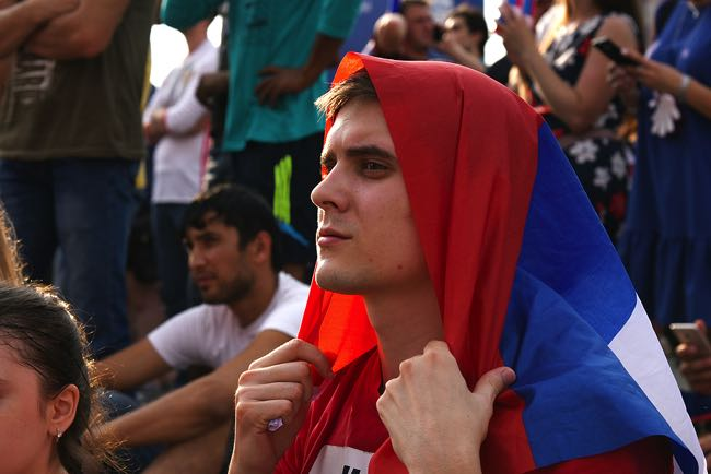 Disappointed Russian Fan
